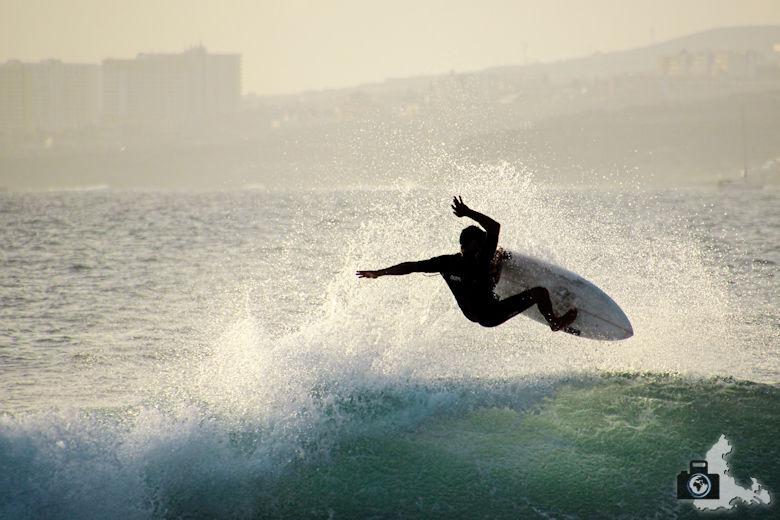 Tipps zum Fotografieren an Strand & Küste - Surfer in Action