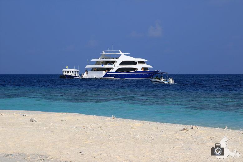 Tipps zum Fotografieren an Strand & Küste - Boot auf dem Meer