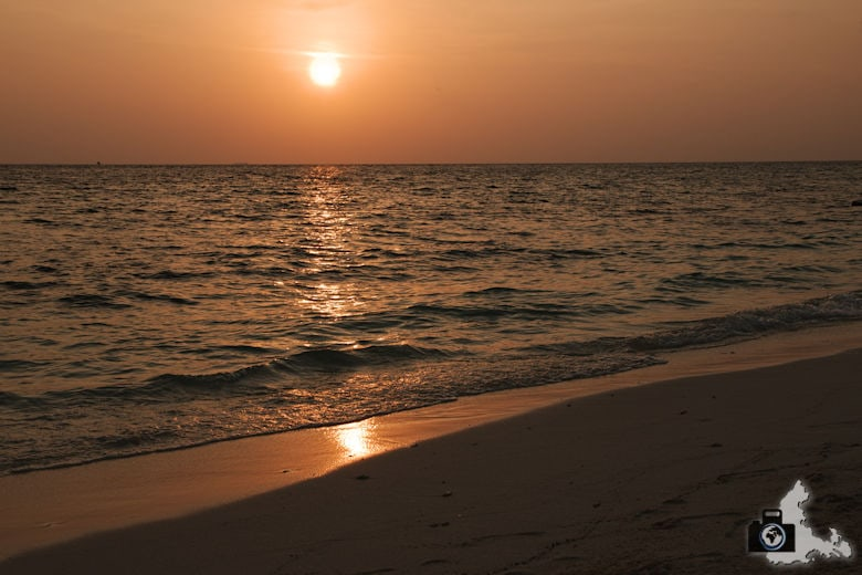 Tipps zum Fotografieren an Strand & Küste - gespiegelte Sonne
