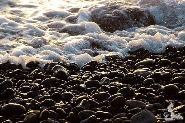 Tipps zum Fotografieren an Strand & Küste - Steine in der Nahaufnahme