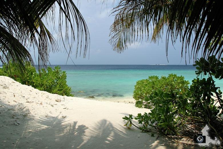 Tipps zum Fotografieren an Strand & Küste - Natürlicher Rahmen