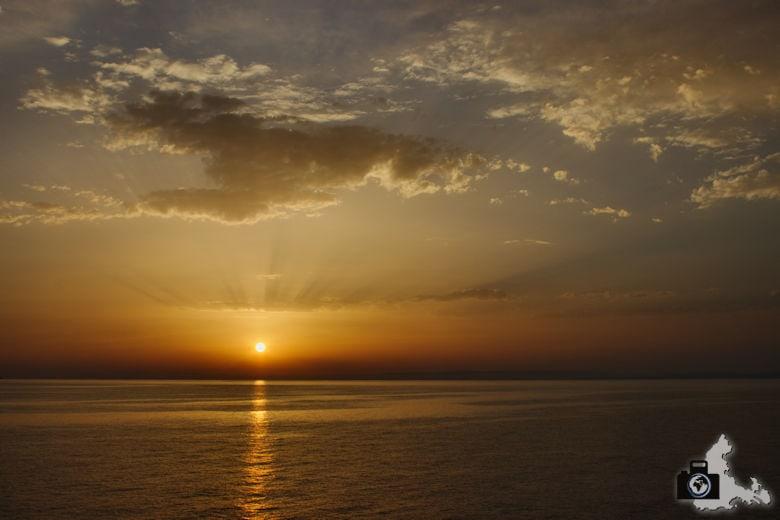 Tipps zum Fotografieren an Strand & Küste - Sonnenuntergang