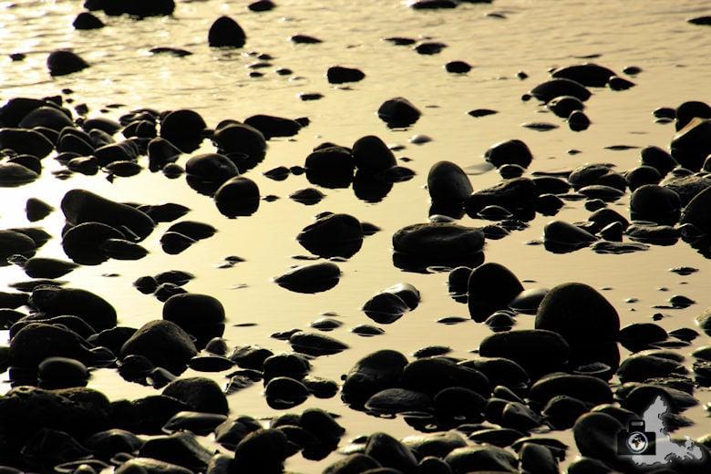 Tipps zum Fotografieren an Strand & Küste - Spiegelung im stimmungsvollen Licht