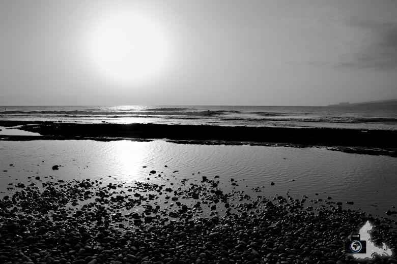 Tipps zum Fotografieren an Strand & Küste - SW-Aufnahme