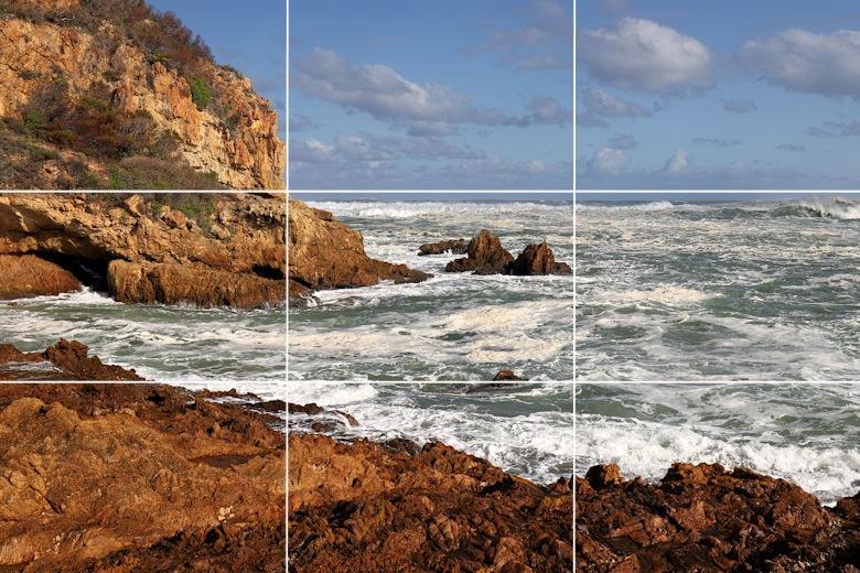 Goldener Schnitt - Beispiel - Landschaft Südafrika