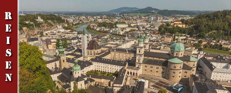 Salzburgs Sehenswürdigkeiten - fEstung Hohensalzburg, Café Tomaselli, Konditorei Fürst