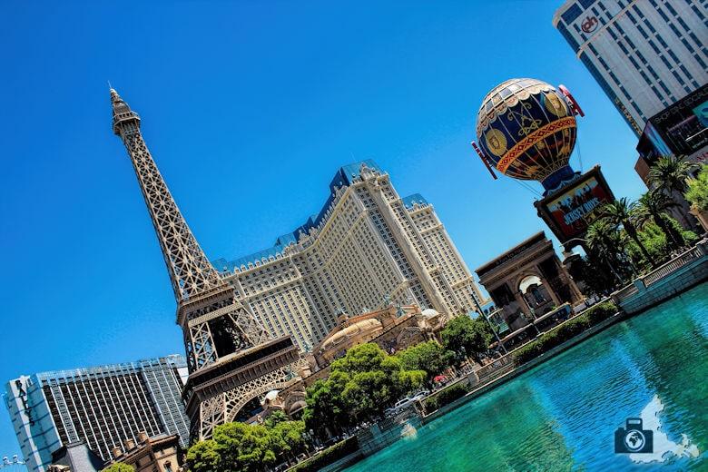 Fotografie Tipps Städtefotografie - Las Vegas - schräge Perspektive