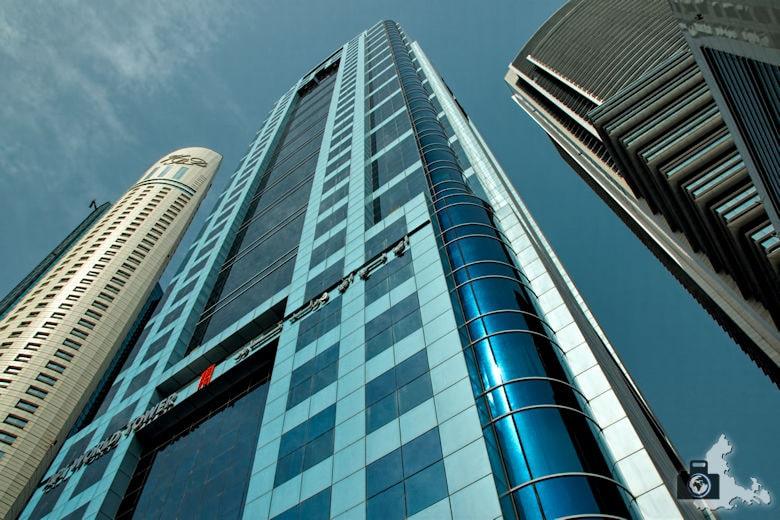 Fotografie Tipps Städtefotografie - Dubai - stürzende Linien