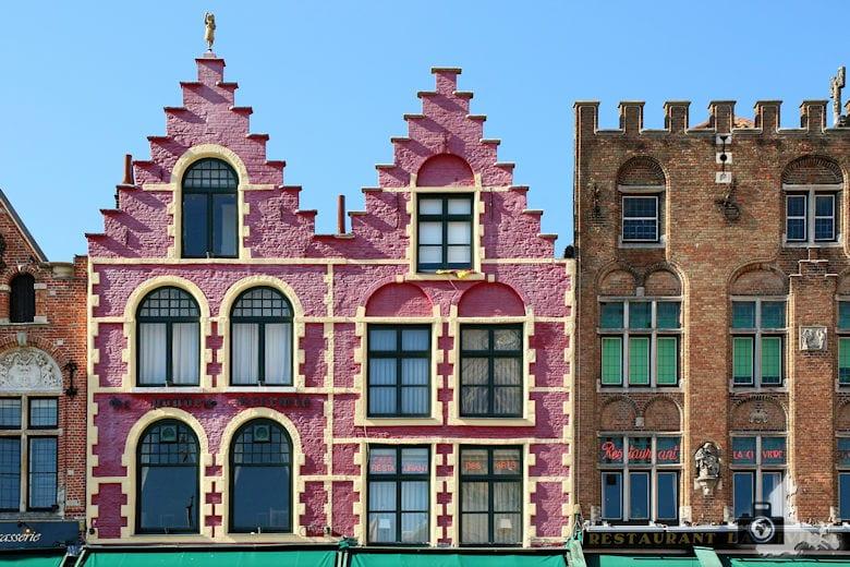 Fotografie Tipps Städtefotografie - Brügge - Häuserfassade