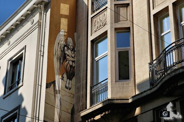 Fotografie Tipps Städtefotografie - Brüssel - Streetart