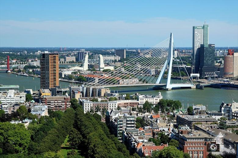 Fotografie Tipps Städtefotografie - Rotterdam - erhöhter Standpunkt