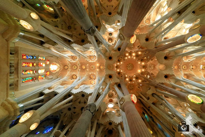 Fotografie Tipps Städtefotografie - Barcelona - Blick nach oben