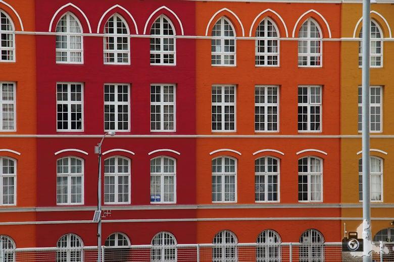 Fotografie Tipps Städtefotografie - Kapstadt - Häuserfassade Muster