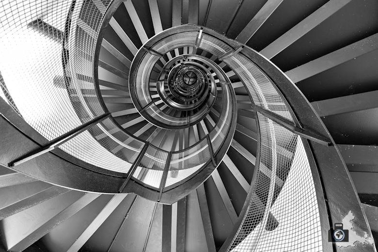 Fotografie Tipps Architekturfotografie - Innsbruck - Turmaufgang SW
