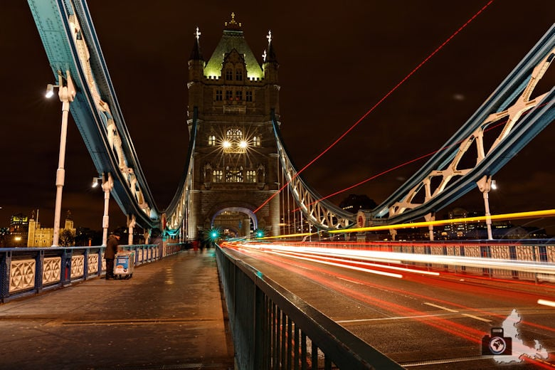 Fotografie Tipps Städtefotografie - London - Leuchtspuren