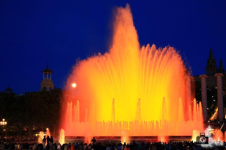 Fotografie Tipps Städtefotografie - Barcelona - Blaue Stunde