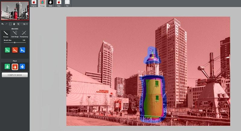Kreative Bildbearbeitung Folge 003 - Leuchtturm maskieren
