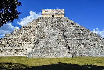 Weltwunder der Neuzeit Chichén Itzá in Mexiko