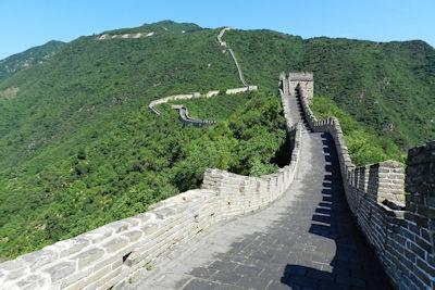 Weltwunder der Neuzeit Chinesische Mauer in China