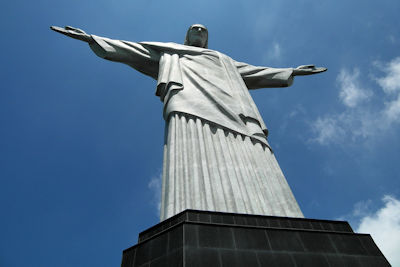 Weltwunder der Neuzeit Cristo Redentor in Brasilien