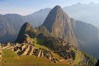 Weltwunder der Neuzeit Machu Picchu in Peru