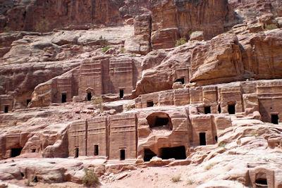 Weltwunder der Neuzeit Felsenstadt Petra in Jordanien