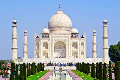 Weltwunder der Neuzeit - Taj Mahal in Indien