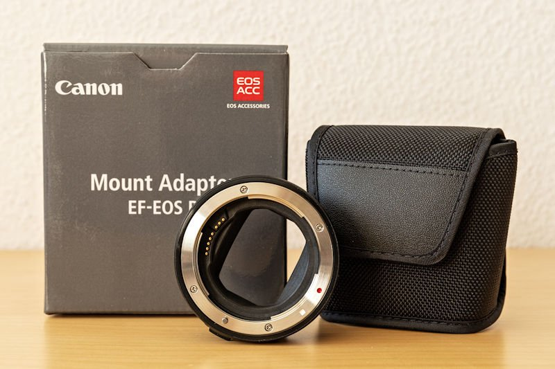 Canon EOS R Testbericht - RF Adapter