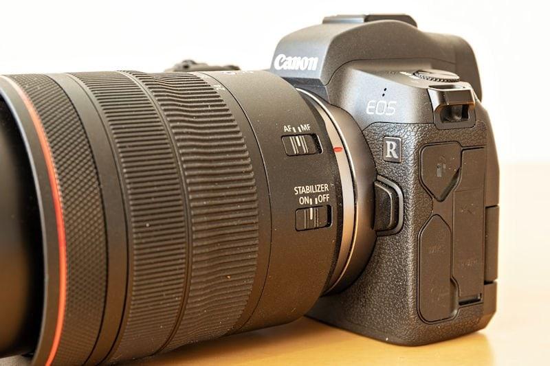 Canon EOS R Testbericht - 24-105 Zoomobjektiv mit Adapter