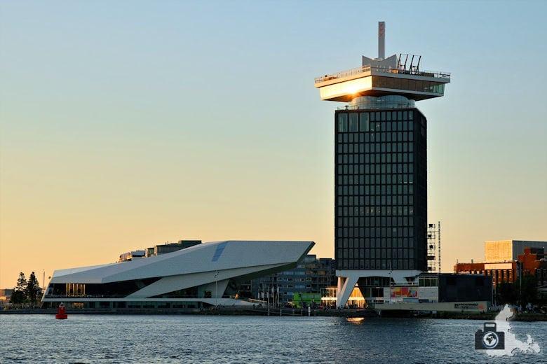 Fotografieren in Amsterdam – A'DAM Lookout