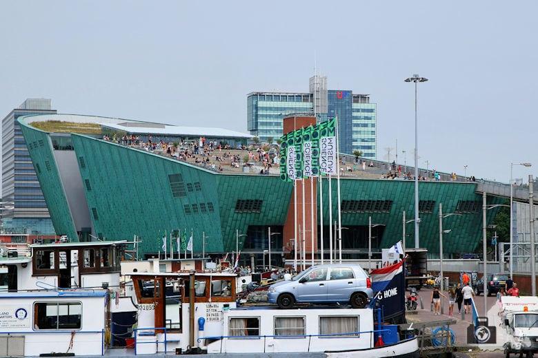 Fotografieren in Amsterdam –Aussichtsterrasse Nemo