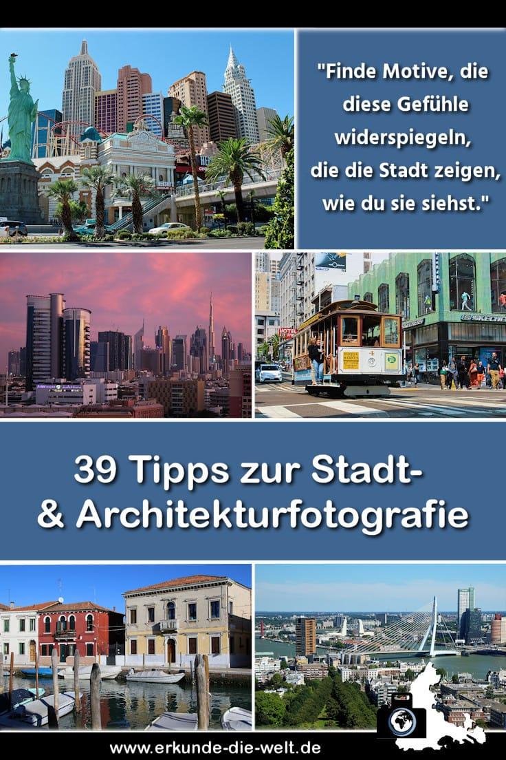 Städtefotografie, Streetfotografie, Architekturfotografie - 39 Tipps