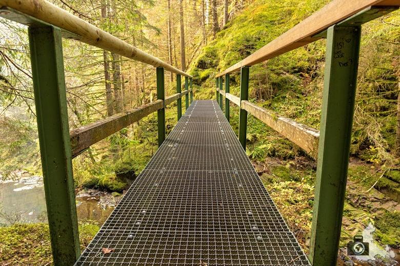 Schwarzwälder Genießerpfad - Rötenbachschlucht - Brücke
