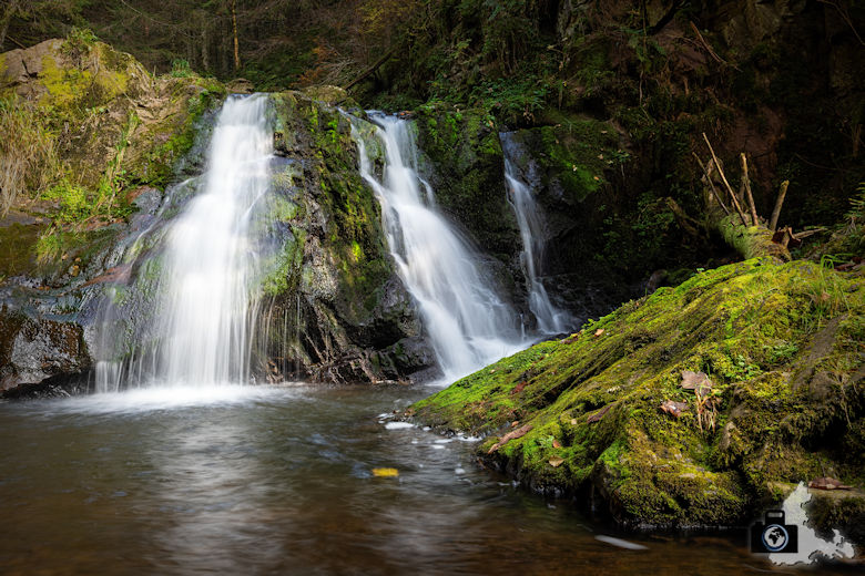 Schwarzwälder Genießerpfad - Rötenbachschlucht - Wasserfall