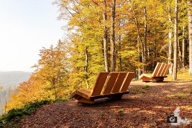 Schwarzwälder Genießerpfad - Rötenbachschlucht - Aussichtsbänke