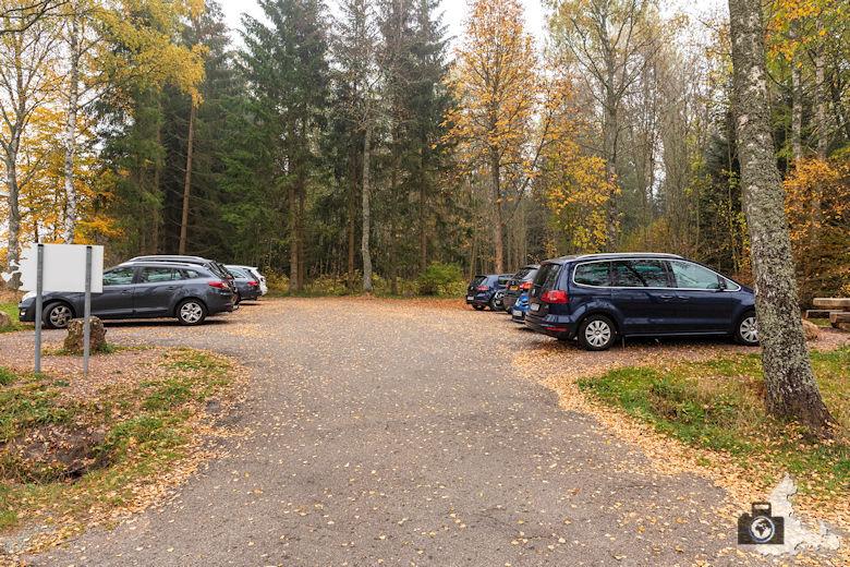 Schwarzwälder Genießerpfad - Rötenbachschlucht - Parkplatz