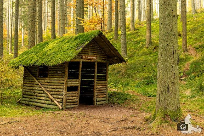 Schwarzwälder Genießerpfad - Rötenbachschlucht - Rötenbachschluchthütte