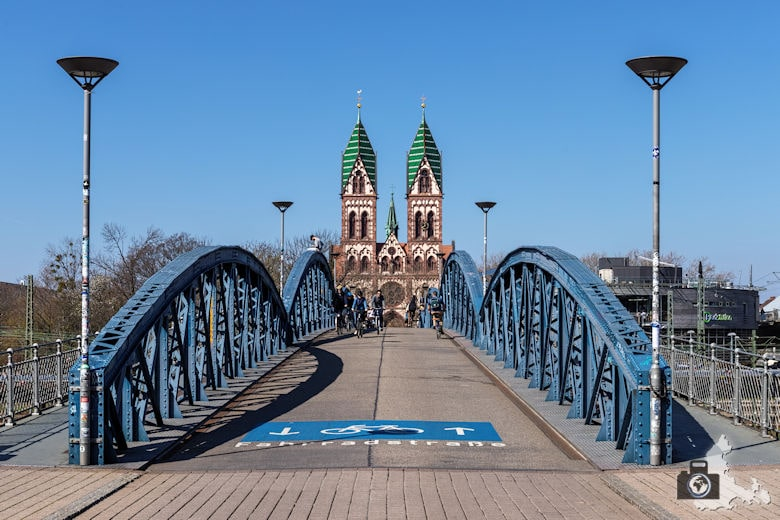 Blaue Brücke, Freiburg