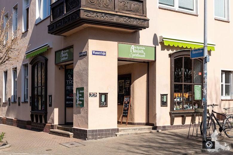 Alte Apotheke - Absinth & Spirituosen, Freiburg, Stadtteil Stühlinger