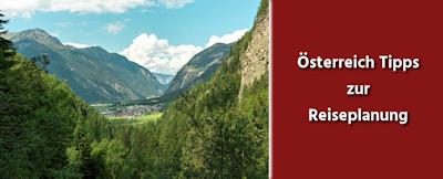 Österreich Tipps zur Reisevorbereitung