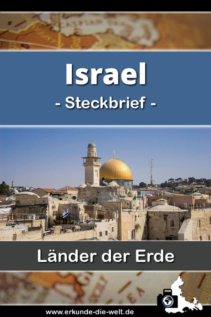Steckbrief Israel, Asien | Erkunde die Welt