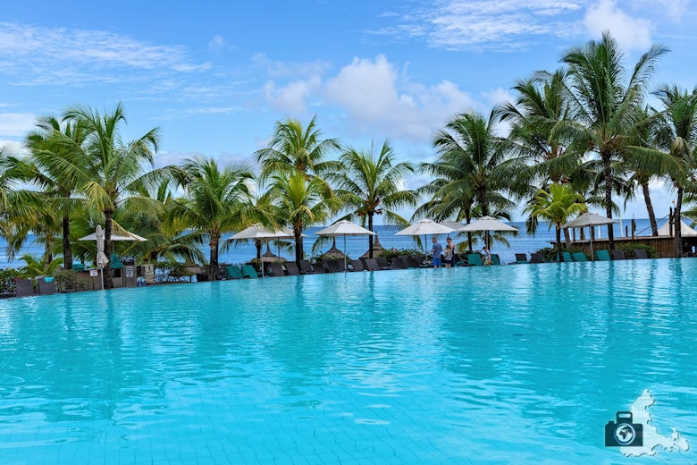 Pool, Victoria Beachcomber Resort & Spa, Mauritius