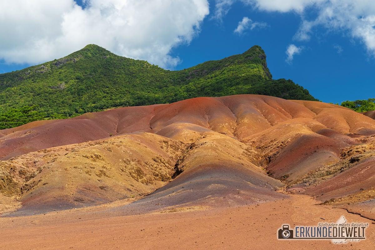 Siebenfarbige Erde, Mauritius