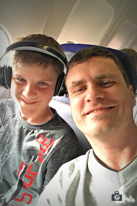 Flug nach Mauritius