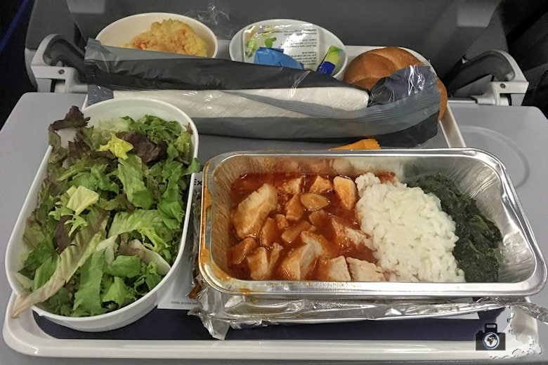 Flug nach Mauritius - Bordessen