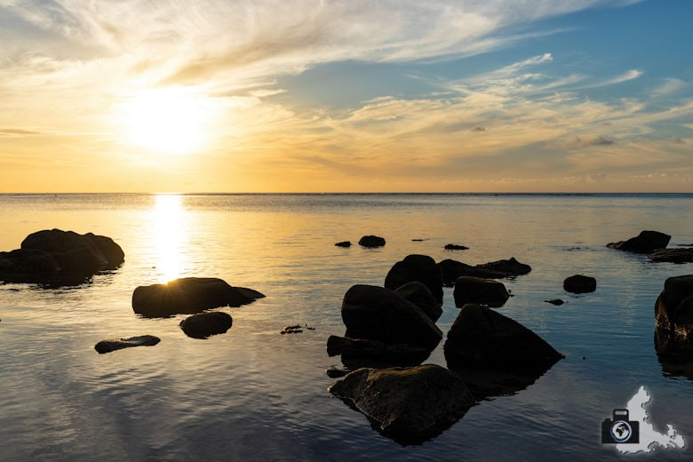Sonnenuntergang Mauritius