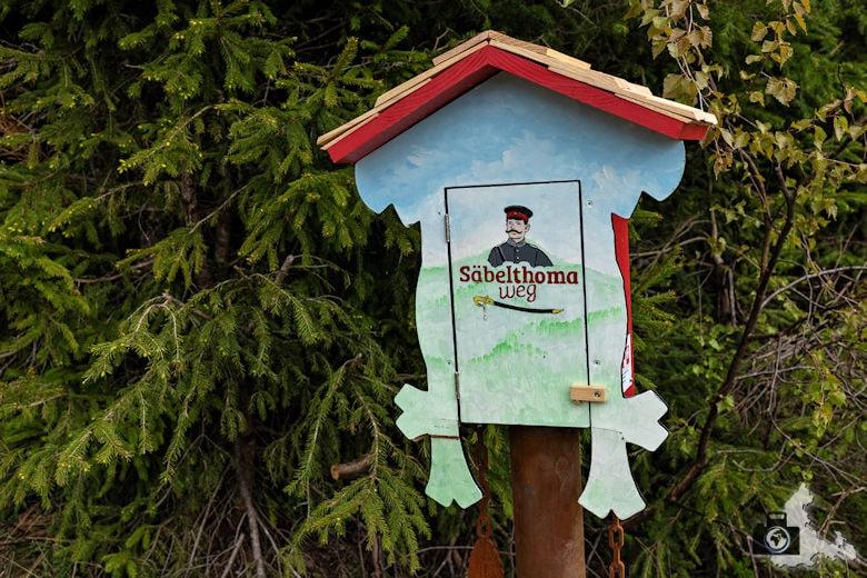Schwarzwälder Genießerpfad - Säbelthomaweg Hinterzarten - Stempeluhr