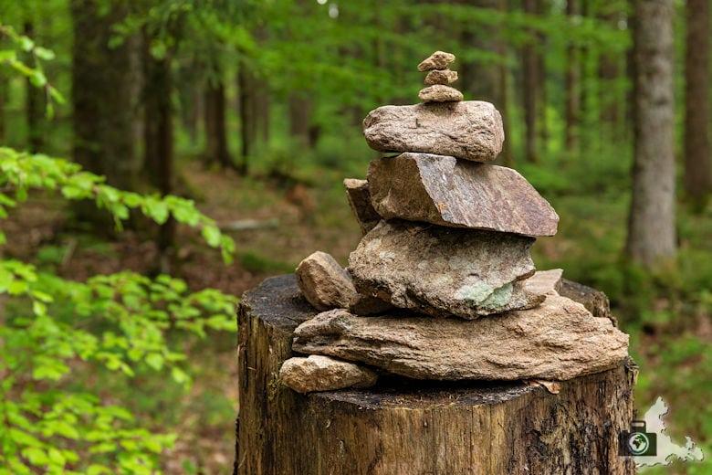 Schwarzwälder Genießerpfad - Säbelthomaweg Hinterzarten - Steine