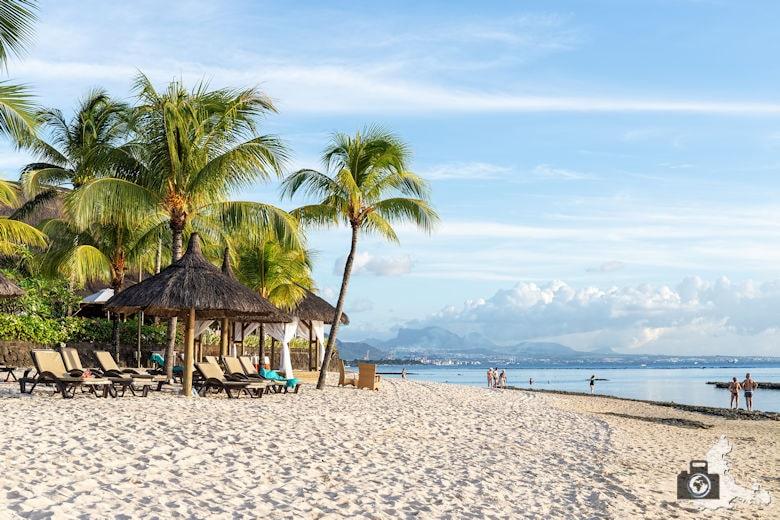Schnorcheln am Strand auf Mauritius