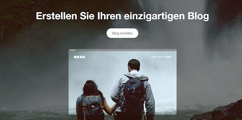 Blog erstellen mit Wix.com